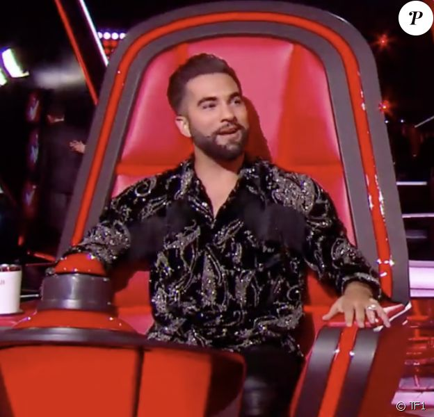 """Les coachs Jenifer et Kendji Girac dans """"The Voice Kids"""" saison 7 - Émission du 22 août 2020, TF1"""