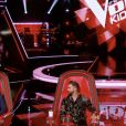 "Les coachs Patrick Fiori, Jenifer, Kendji Girac et Soprano dans ""The Voice Kids"" saison 7 - Émission du 22 août 2020, TF1"
