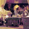 Céline Dion et René Angélil se remarient sur le thème oriental, à Las Vegas, en 2000