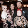 Conor McGregor, sa compagne Dee et leurs enfants Conor Jr. et Croia, photo Instagram décembre 2019
