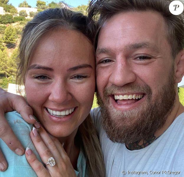 Conor McGregor et sa compagne Dee Devlin sont fiancés ! Août 2020.