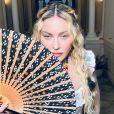 Madonna prend la pose sur Instagram pour ses 62 ans, le 16 août 2020.