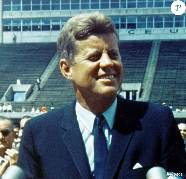 John Fitzgerald Kennedy, 35e et plus jeune président des Etats-Unis. Photo by World History Archive/ABACAPRESS.COM