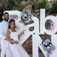 Kamila et Noré ont organisé une baby shower digne d'un mariage dimanche 19 juillet 2020. La jeune femme, enceinte de son premier enfant, a annoncé le sexe du bébé à ses invités.