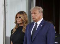 Donald Trump soutenu par Melania et ses filles aux obsèques de son frère
