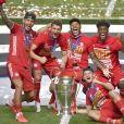 Benjamin Pavard - Le Bayern de Munich remporte la finale de la ligue des Champions UEFA 2020 à Lisbonne en gagnant 1-0 face au PSG (Paris Saint-Germain) le 23 Août 2020.