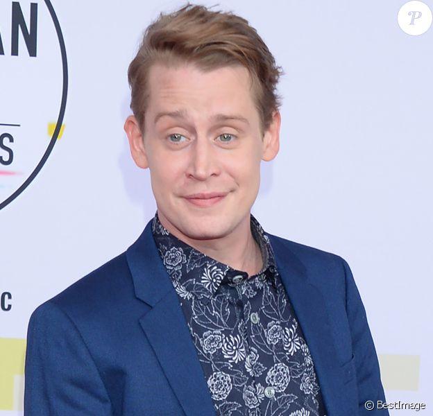 Macaulay Culkin à la soirée 2018 American Music Awards au théâtre Microsoft à Los Angeles.