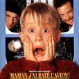 "Macaulay Culkin dans le film ""Maman, j'ai raté l'avion"". 1990."