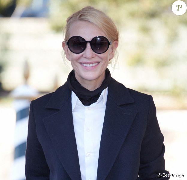 Cate Blanchett arrive à la 77ème édition du festival international du film de Venise (Mostra)