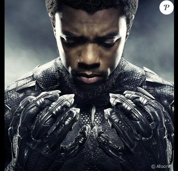 """Affiche du film """"Black Panther"""". 2017."""