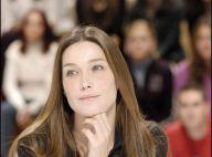 Interview de Carla Bruni : la première dame de France ' voulait prendre très vite la parole'...