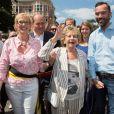 Bruxelles rend hommage à Annie Cordy, acclamée comme une rock star, par les bruxellois. Le 8 juillet 2018.