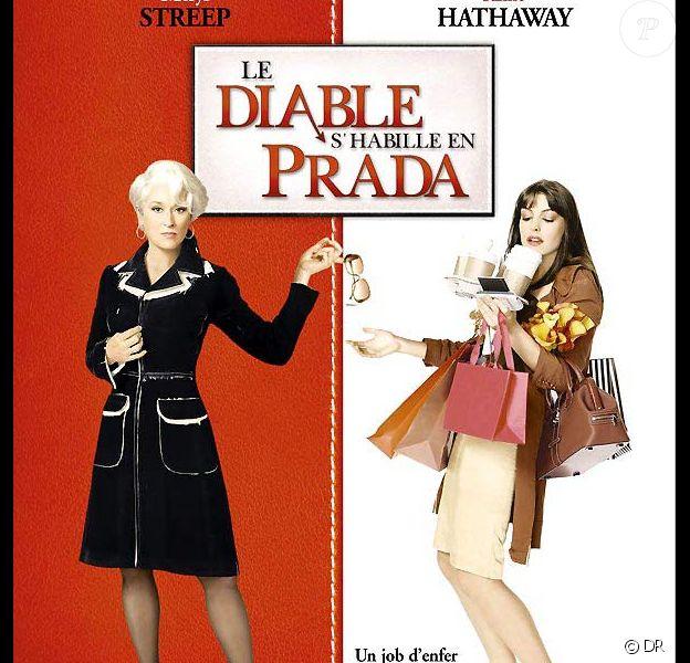 """Affiche française du """"Diable s'habille en Prada"""""""