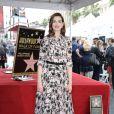 Anne Hathaway - Anne Hathaway reçoit son étoile sur le Walk Of Fame dans le quartier de Hollywood à Los Angeles, le 9 mai 2019.