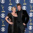 Patricia Arquette et son époux aux Emmy Awards