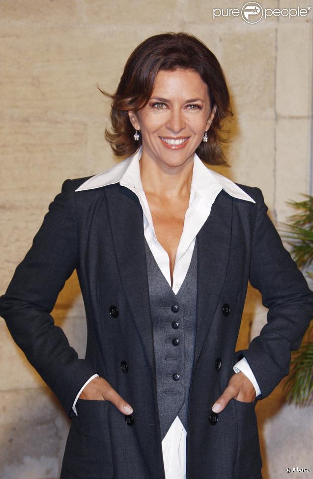 Corinne Touzet à la clôture du Festival de la fiction TV de la Rochelle (20 septembre 2009)