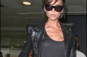 Victoria Beckham : tout en cuir et encore plus mince mais... d'attaque pour la Fashion Week !