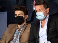 PSG-OM : Benjamin Castaldi et son fils Simon, spectateurs du match sous tension