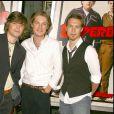 Les frères Hanson à la première de Superbad, à Los Angeles.