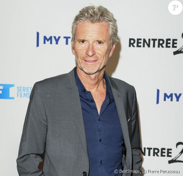 Denis Brogniart - Soirée de rentrée de TF1 au Palais de Tokyo à Paris © Pierre Perusseau/Bestimage