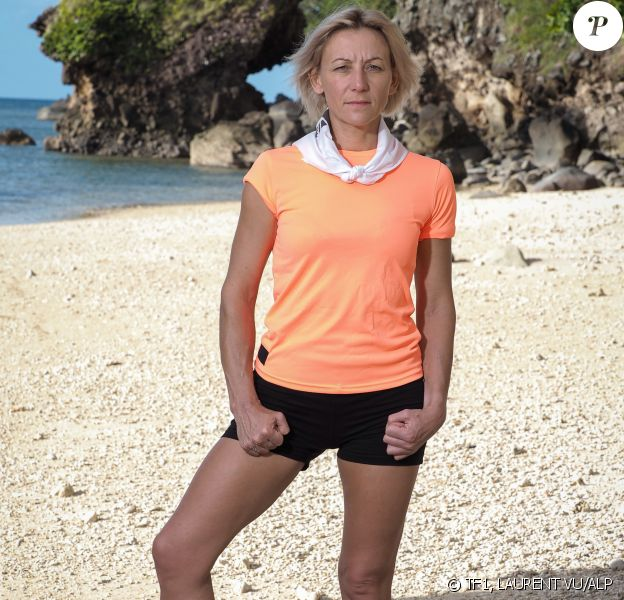"""Estelle, candidat de """"Koh-Lanta, Les 4 Terres"""", diffusée en 2020, photo officielle"""