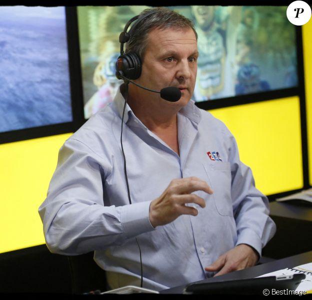 Thierry Adam, journaliste sportif français travaillant pour France Télévisions