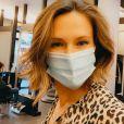 Lorie Pester en mode selfie sur Instagram, septembre 2020.