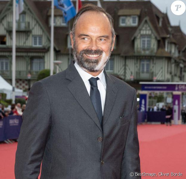 Edouard Philippe - Red carpet de la cérémonie d'ouverture du 46ème Festival du Cinéma Américain de Deauville. © Oliver Borde / Bestimage