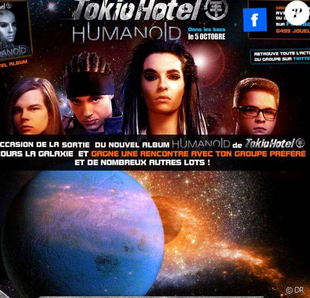 Les  Tokio Hotel invitent leurs fans en mission