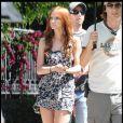 Ashlee Simpson sur le tournage de Melrose Place à Los Angeles le 23 septembre 2009