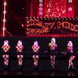 """Exclusif - Crazy Horse - Enregistrement de l'émission """"Spectaculaire"""" présentée par J.M.Généreux, qui sera diffusée le 3 octobre sur France 2, à La Plaine Saint-Denis. © Pierre Perusseau / Bestimage"""