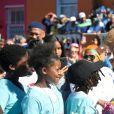 Le prince Harry, duc de Sussex, et Meghan Markle, duchesse de Sussex, en visite à Bo Kaap à Cape Town, Afrique du Sud. Le 24 septembre 2019