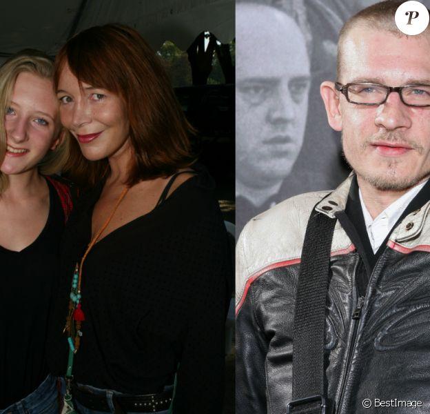 Elise Ventre et sa fille Louise Depardieu, née de son histoire avec le regretté Guillaume Depardieu.
