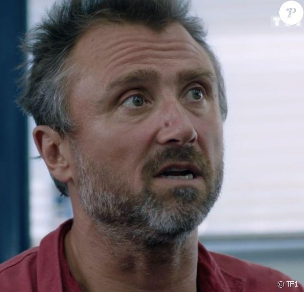 """Alexandre Brasseur dans la série """"Demain nous appartient"""", diffusée sur TF1."""