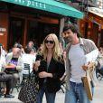 Amanda Feyfried et le réalisateur Gary Winick à New York le 24 septembre 2009