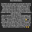 Matt Pokora s'explique le 8 octobre 2020 sur la quatorzaine à laquelle il est contraint avec sa compagne Christina Milian.