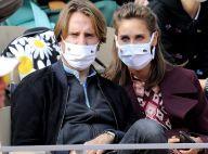 Ophélie Meunier et son mari complices à Roland-Garros pour un match fou