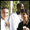 Rachida Dati au Champ-de-Mars le dimanche 27 septembre, avec Valérie Pécresse, Frigide Barjot qui la fait rire. Elle visite les stands, s'essaie au tir à l'arc... une bien belle jourrnée sous le signe de la famille !