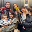 Les filles de Catherine Laborde avec leurs bébés, sur Instagram, le 2 octobre 2020