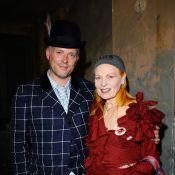 Vivienne Westwood et son fils : Même dans les défilés d'autres créateurs... on ne voit qu'eux ! Quel look !
