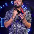 Exclusif - Kev Adams lors de la soirée de lancement du Fridge, le nouveau comedy club de Kev Adams à Paris le 24 septembre 2020. © Rachid Bellak / Bestimage