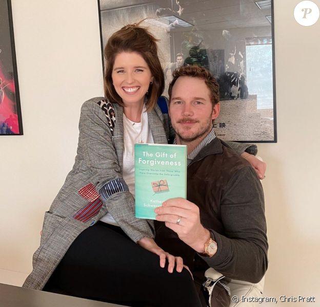 Chris Pratt et son épouse Katherine Schwarzenegger. Mars 2020.