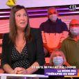 """Evelyne Thomas en direct dans """"Touche pas à mon poste"""" sur C8, le 22 octobre 2020"""