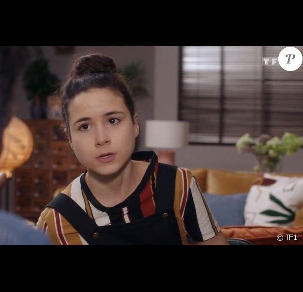 """Maïna Grézanlé dans la série """"Demain nous appartient"""", sur TF1."""