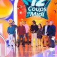 """Jean-Luc Reichmann surpris par d'anciens candidats dans """"Les 12 coups de midi"""" pour son anniversaire - TF1, 2 novembre 2020"""