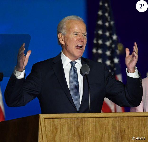 Joe Biden en campagne à Wilmington, dans le Delaware, le 3 novembre 2020.