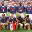 Equipe de France de la coupe du monde 1998, finale contre le Brésil le 12 juillet 1998