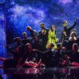 """Exclusif - Jenifer lors de l'enregistrement de l'émission """"Les 40 ans de Starmania"""" les stars chantent pour le Sidaction au Palais des Congrès à Paris, le 29 mars 2019. © Pierre Perusseau/Bestimage"""