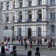 La cérémonie de la journée du souvenir (Remembrance Day) à Londres le 8 novembre 2020.