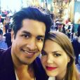 Sugar Sammy (Incroyable Talent) en couple avec le mannequin Nastassia Markiewicz - Instagram